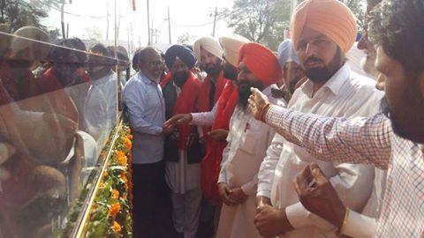 Bhagwan Valmiki Ji Murti Darshan Yatra received by Darshan Singh kotfatta in his village Goniana Mandi  #ShiromaniAkaliDal #SAD #Punjab