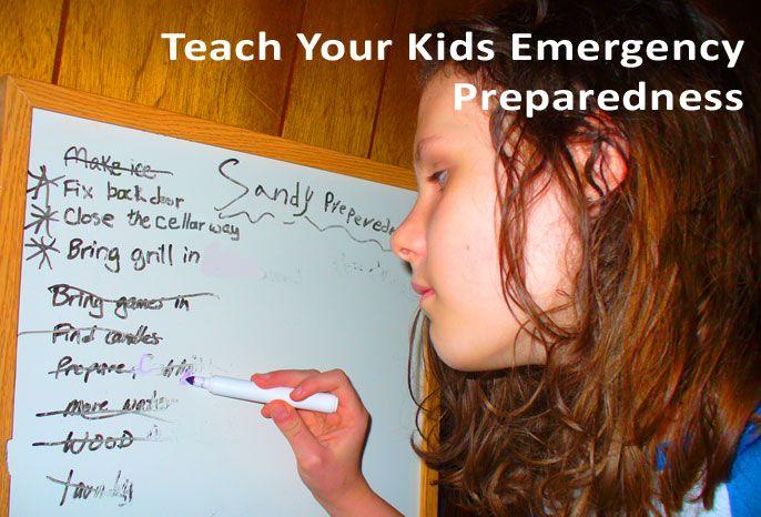 Homeschool Lessons for Emergency Preparedness