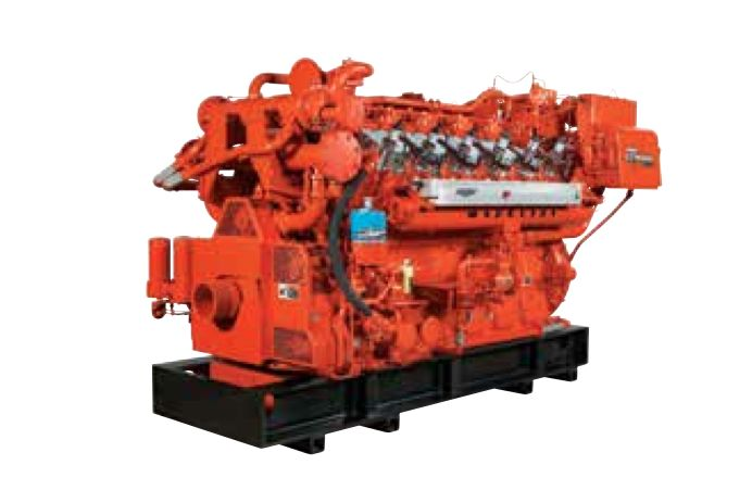 VHP Gas Engines. 315 kW to 1.5 MW (405 bhp to 2,560 bhp). 700 to 1200 rpm