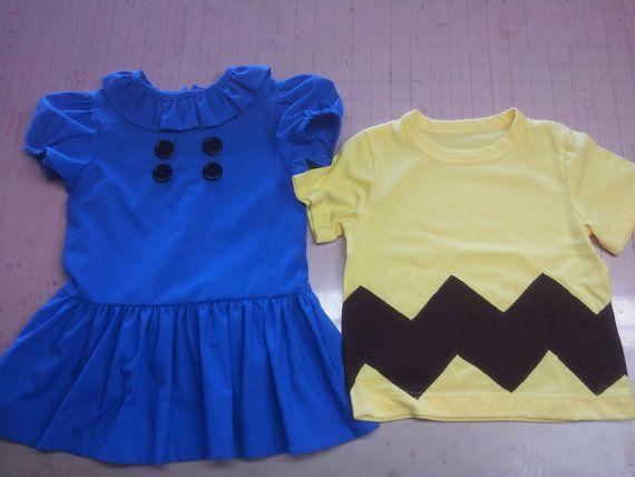 Charlie Brown Lucy dress Van pelt charlie Lucy dress girls dress Halloween Lucy…