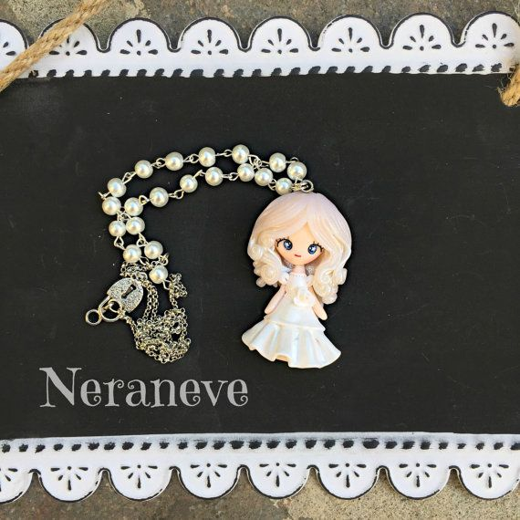 Sposina dolce doll di NeraneveStella su Etsy