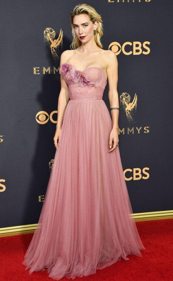 Vanessa Kirby In Marchesa – 2017 Emmy Awards