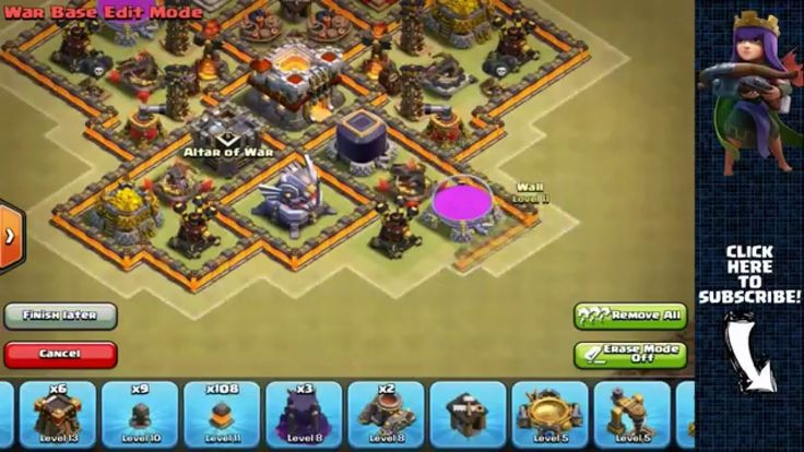 TH11 Hybrid Base Perfect Loot Balance   Clash of Clans