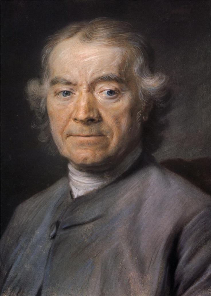 Maurice Quentin de La Tour   -  Francois Dachery, pastel | Musée Antoine Lecuyer, Saint-Quentin, France