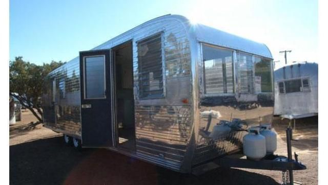 A Vintage Aluminum Trailer Perfect For Any House Guest