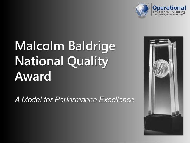 malcolm baldrige award mercy health system State and local group health insurance members  awarded the malcolm baldrige national quality award in 2007—the nation's  mercy health system sees over.