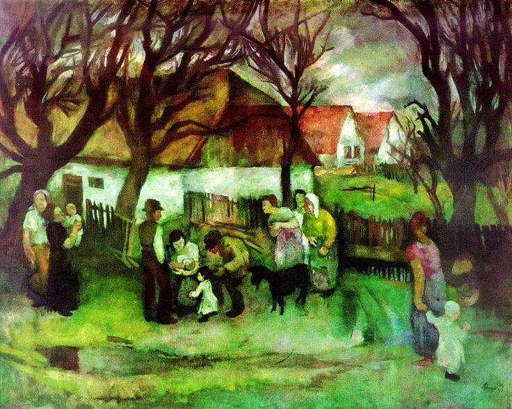 Szőnyi, István (1894-1960) - Evening at Zebegény, 1928