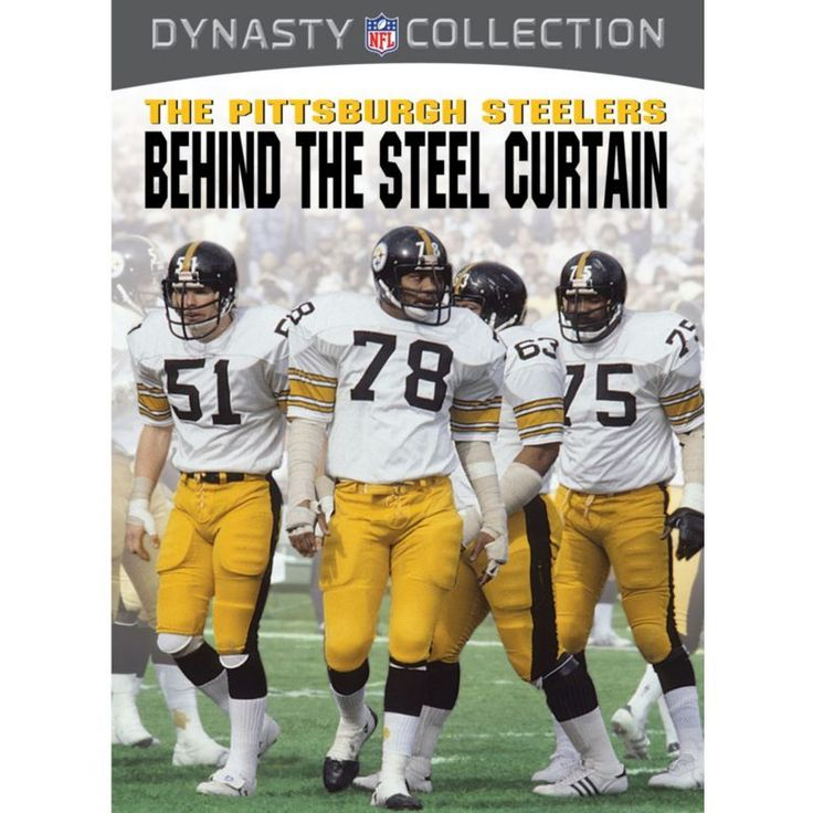Dynasty Collection – The Pittsburgh : Behind The Steel Curtain DVD