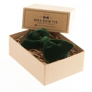 Forest Velvet - Mrs Bow Tie