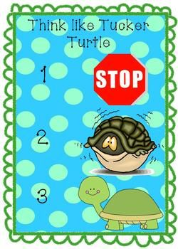 Tucker Turtle Social And Emotional Needs Anger Management