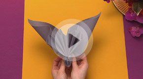 Napkin folding movies from Duni - Elegant