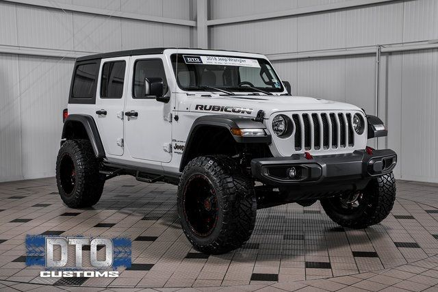 2018 Used Jeep Wrangler Unlimited Rubicon Serving Gainesville Va