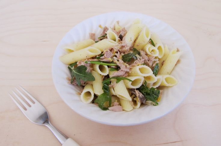 LowFODMAP / LavFODMAP   Simple pasta with tuna and lemon  Pasta med tunfisk og sitron