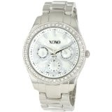 XOXO Women's XO5301A Rhinestone Accent Silver-Tone Bracelet Watch (Watch)By XOXO