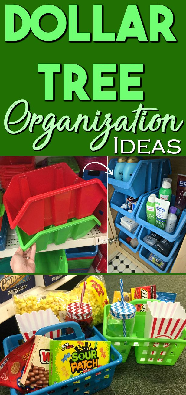 If you're looking to do some Spring cleaning and organizing, check out these awesome Dollar Tree items - for just $1 each!