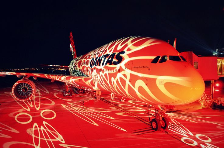 Qantas' first Airbus A380-800 delivery ceremony