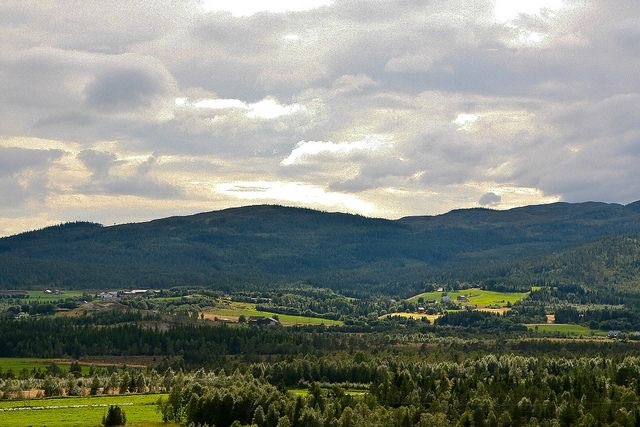 "Namdalseid. Typical landscape. This is what my home ""town"" lokks like. By estenvik on Flickr."