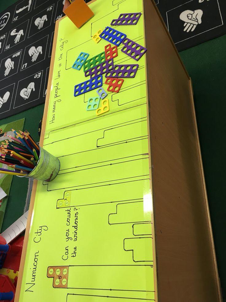 Numicon city maths challenge eyfs