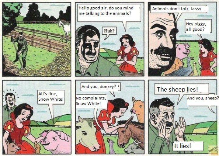 Sheep lies!
