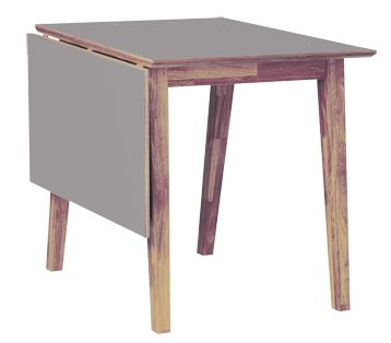 Det perfekta köksbordet. Med tålig högtryckslaminatyta klarar bordet Funk hårda tag. Glöm repor och rispor, matbord Funk är skapat för att hållas snyggt länge.   Bordet finns i tre olika storlekar, 70x80cm + klaff, 120x80cm + klaff och runt 110cm. I serie