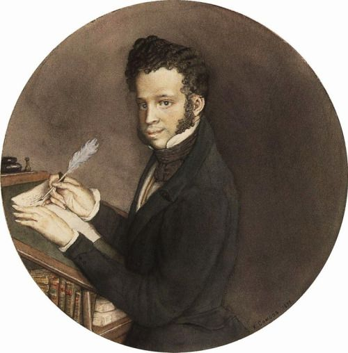 1800s Week!  Konstantin Andreyevich Somov  Portrait of Alexander Pushkin  Russia (1899)  Alexander Sergeyevich Pushkin is considered by many to be the greatest Russian poet of all time, as well as the founder of modern Russian Literature. As for his...