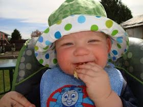 Free sun hat pattern (approx. size 12 months) 6 sections