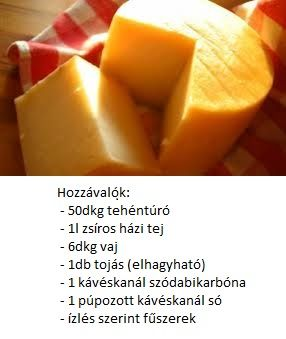 sajt adalékok nélkül - homemade cheese without additives