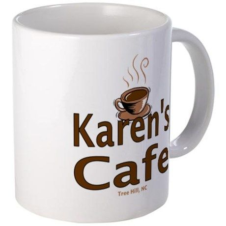 Tree Hill: Karens Cafe Mug on CafePress.com