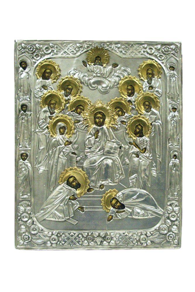 Religion icon: Deisis - HELLENIC CULTURE HELLENIC CULTURE