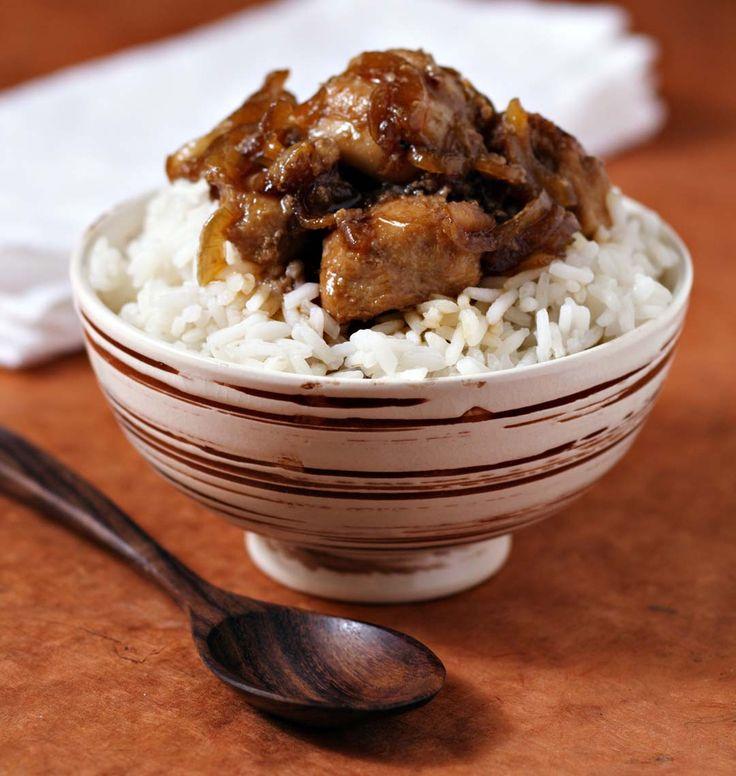 Photo de la recette : Poulet au miel et sauce soja