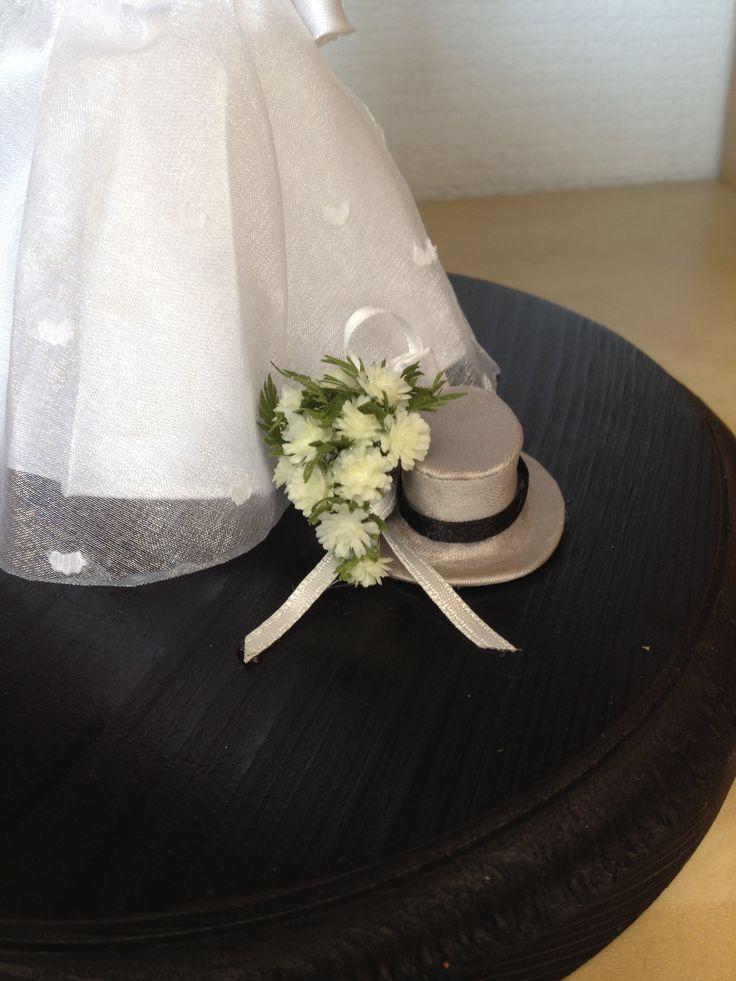 De hoed van de bruidegom .