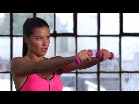 Los ejercicios para brazos y abdomen que realiza Adriana Lima | TELVA