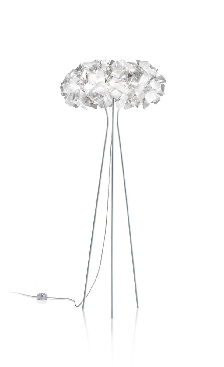 Lampade bianche: lampada da terra Clizia | White lightings: Clizia floor lamp • Design: Adriano Rachele for Slamp