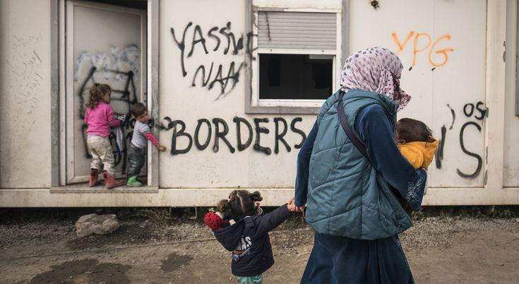 La situación de la infancia en la crisis de refugiados