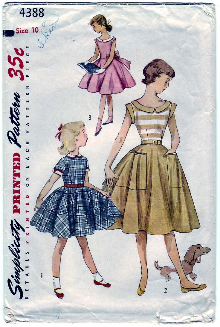 100 besten Children\'s clothes 1950\'s Bilder auf Pinterest | Retro ...