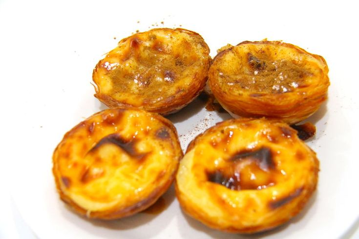 Pastel de nata - portugalski przysmak z Lizbony