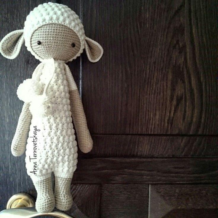 lalylala lupo crochet amigurumi