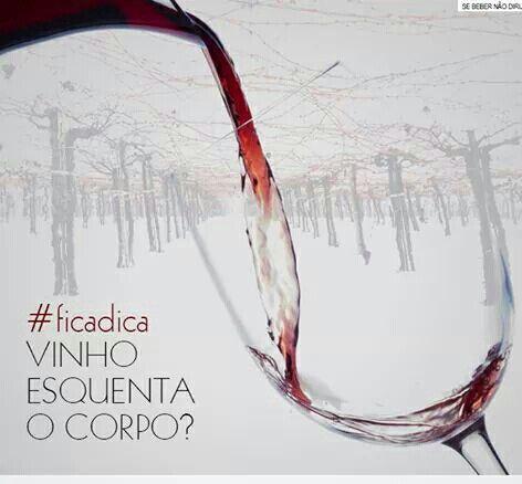 #Vinho & #Inverno #InvernoComVinhoMeVerão♥ Já é #Inverno! ☆ Na realidade, o #Vinho não aumenta a nossa Temperatura Corporal, apenas retira a sensação de #Frio. Isso porque ele age como um vasodilatador, ajudando o sangue a fluir com mais facilidade pelas artérias. ☆