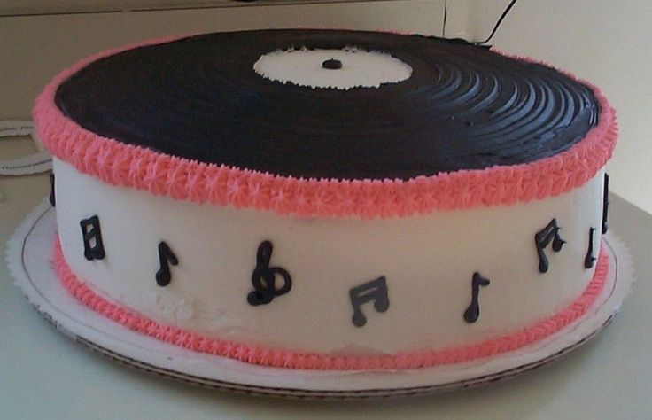 cake record cake sock hop party music cakes theme cakes eat cake ...