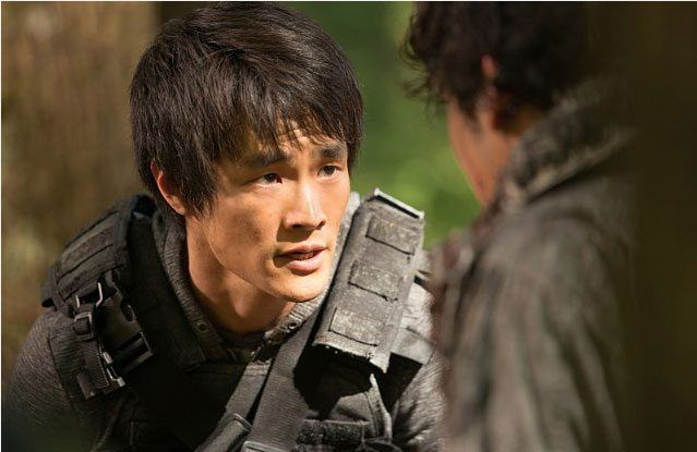 Christopher Larkin talks about The 100 season 3. #the100
