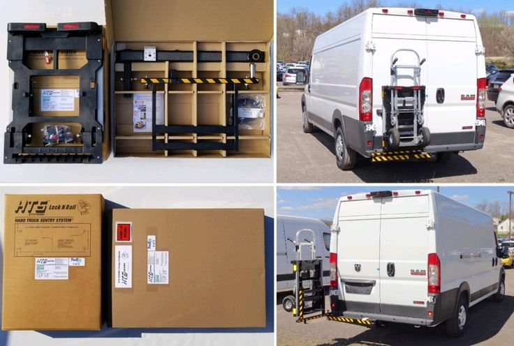 Hts Systems Hts 20shm 2 Designed For Larger Full Size Walk In Commercial Cargo Delivery Vans Allows Access To Bot Hand Trucks Trailer Hitch Receiver System
