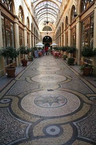 When in Paris you must shop at Galerie Vivienne - these beautiful old passages are not to be missed.