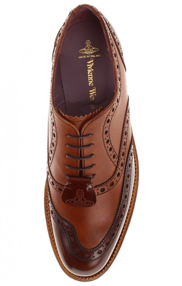 Vivienne Westwood x Barker make a MANLY brogue | SOLETOPIA