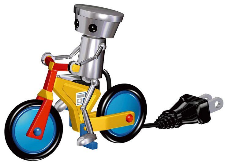 Chibi-Robo & Bike - Chibi Robo!: Park Patrol, Nintendo DS
