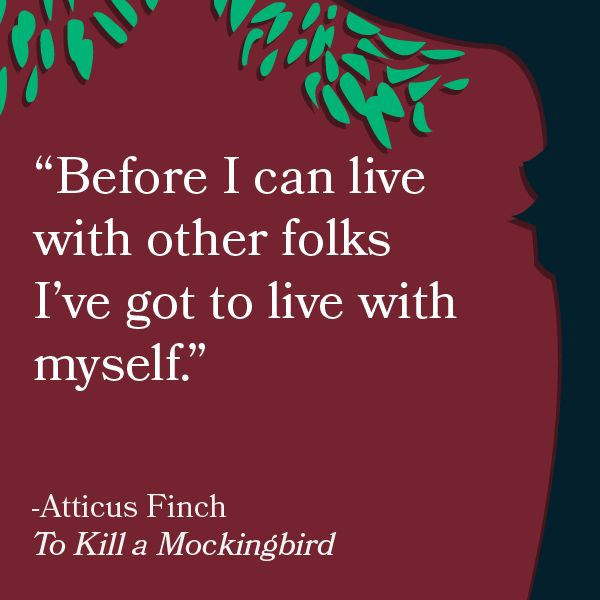 Writing a letter to one of the characters in To Kill A MockingBird?