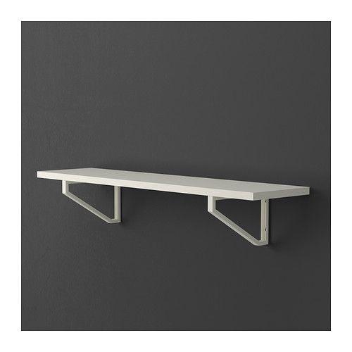 EKBY JÄRPEN Regalboden - weiß, 79x19 cm - IKEA