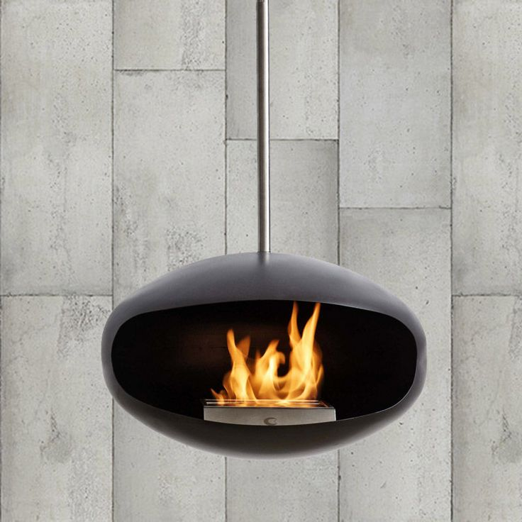 Cocoon fireplaces run on ethanol, making the fires clean and environmentally friendly. As the ethanol burns the main body of the fireplace heats and radiates warmth throughout the room. The burner contained inside can hold enough fuel to burn for up to 4-6 hours depending on the heat setting, which can be adjusted for comfort.