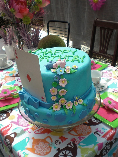 alice in wonderland mad hatter cakes nc