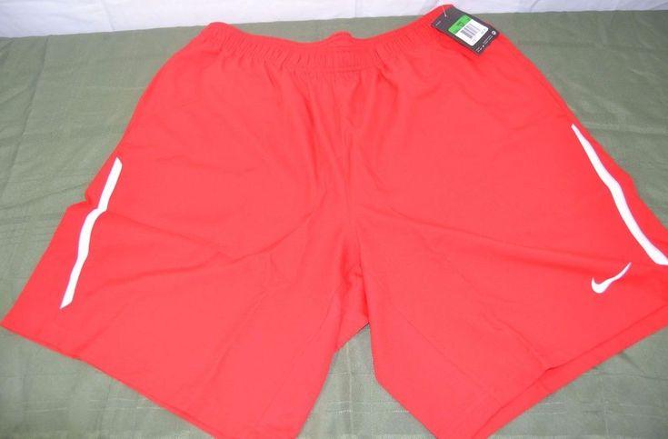 Nike Soccer Shorts Red w/White Strip Elastic/Drawstring/Pocket Dri-Fit NWT   Sporting Goods, Team Sports, Soccer   eBay!