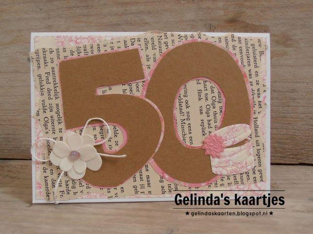 Gelinda's kaartjes: 50 jaar!!